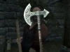 Steel War Axe HD текстуры, мод к игре The Elder Scrolls 5: Skyrim