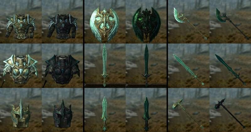 скачать моды для The Elder Scrolls 5 Skyrim на оружие - фото 4