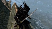 Red Blades sword and Dragonbane upscaled and sharpened, мод к игре The Elder Scrolls 5: Skyrim
