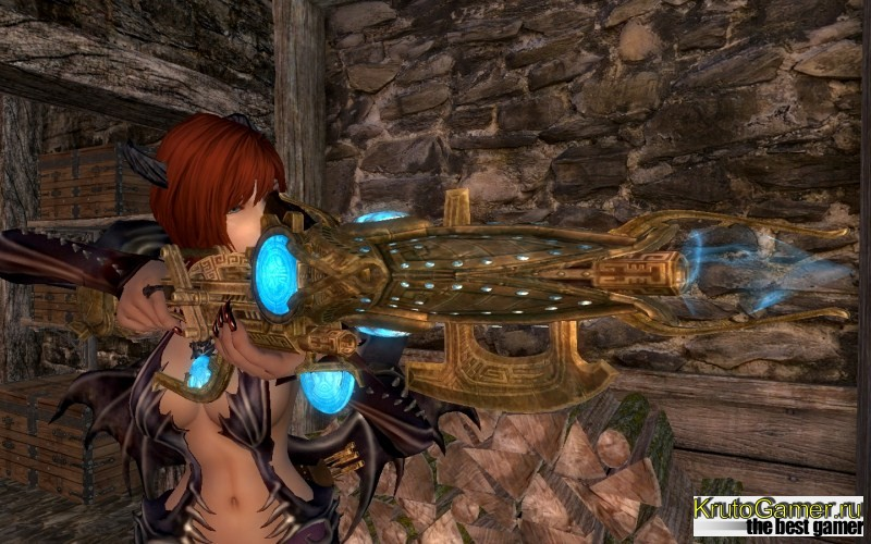 Dwarven Rifle, мод к игре TES 5: Skyrim