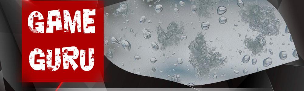 GameGuru - ПОГОДА, дождь, снег, метель - урок 42