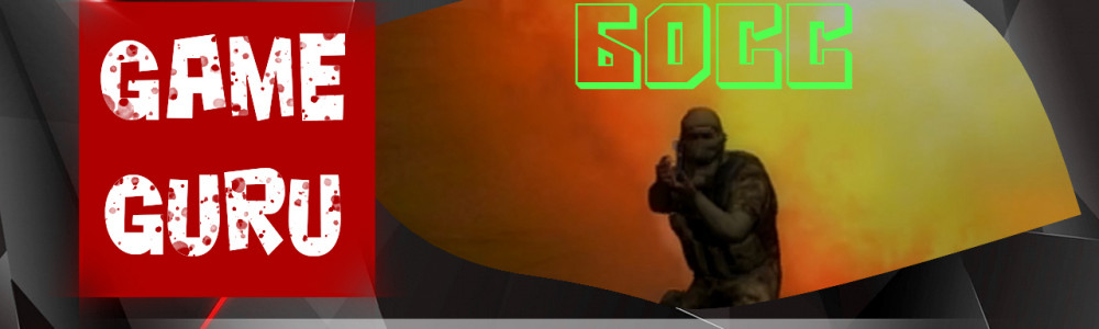 GameGuru - БОСС в игре - урок 53